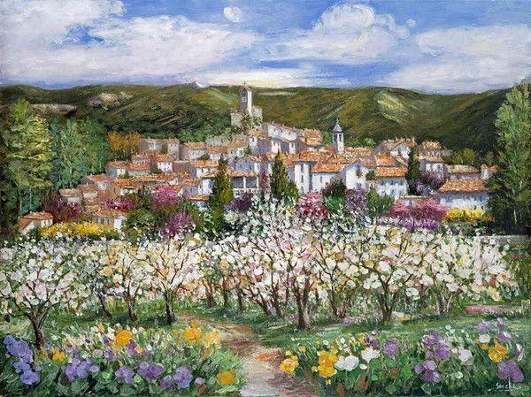 Village Lourmarin Provence