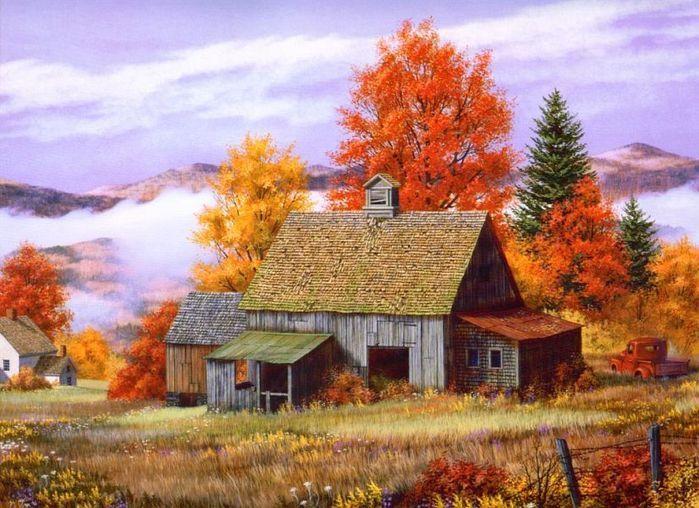 Paysage automne chez Vanille