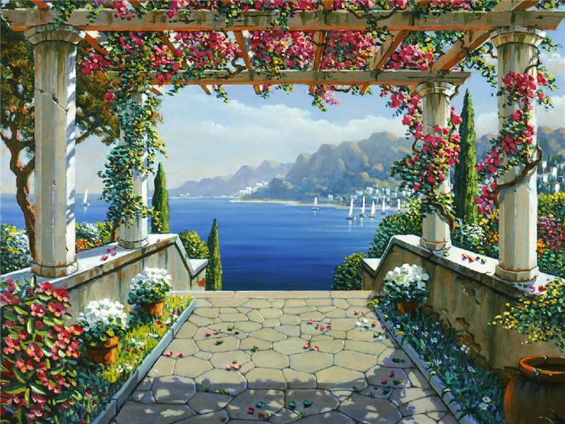 Famoso Il mondo di Mary Antony: I romantici paesaggi di Robert Pejman MA29